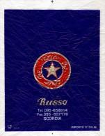 # RUSSO ELITE ORO SCORDIA CATANIA SICILIA PAPER FRUIT WRAPPER Orangenpapier Papier D´Orange Naranja Arancia Frutta - Fruits & Vegetables