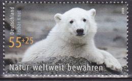 Timbre-poste Neuf** - Faune L'ours Polaire Knut Du Zoo De Berlin - N° 2486 (Yvert) - Allemagne Fédérale 2008 - [7] Federal Republic