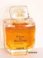 Miniatures De Parfum  FLACON  De  PARFUM  FLEURS DE ROCAILLE   De CARON  Bouchon Verre  50  Ml - Fragrances