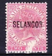 MALAISIE - SELANGOR 1882-90 YT N° 6a Obl. - Selangor