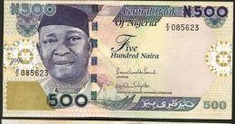 NIGERIA  :   500 Naira 2009  - UNC - Nigeria