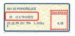 Czech Rep. / APOST (1999) 691 23 POHORELICE (A03311) - Czech Republic
