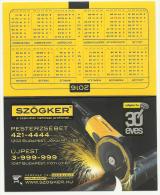 Hungary, Szogker, Tools Advertising, 2016. - Calendarios