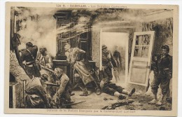 BAZEILLES - N° 126 -  LA DERNIERE CARTOUCHE - DEFENSE DE LA MAISON BOURGERIE PAR LE CDT LAMBERT - CPA NON VOYAGEE - Other Municipalities