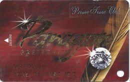 Paragon Casino Marksville LA - Diamond Slot Card With Prime Time Club Sticker - Casino Cards