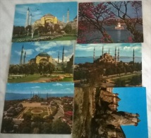 6 CART. TURCHIA  (18) - Cartoline