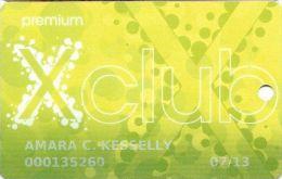 Parx Casino Philadelphia PA - Xclub Premium Slot Card - Casino Cards