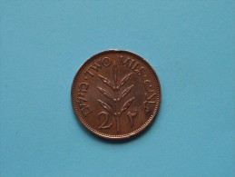 PALESTINE 1945 - 2 Mils / KM 2 ( For Grade, Please See Photo ) ! - Monnaies
