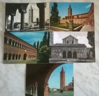 5 CART.  ABBAZIA DI POMPOSA - Cartoline