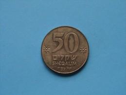 1984 - 50 Sheqalim ( For Grade, Please See Photo ) ! - Israele
