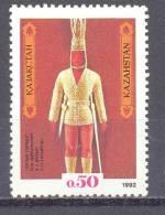 1992. Kazakhstan, Goldem Warrior, 1v, Mint/** - Kazakhstan