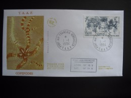 TAAF. 1994. Copepodes, FDC/ETB (G1861) - FDC