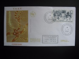 TAAF. 1994. Copepodes, FDC/ETB (G1820) - FDC