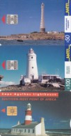 DIFFERENT. 3 PHONECARDS THEME   ´´ LIGHTHOUSES ´´F03 - Lighthouses