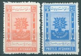 AFGHANISTAN - MNH/*** LUXE - 1960 - ANNEE DES REFUGIES  - Mi 488-489 - Yv 494-495 -  Lot 13570 - Afghanistan
