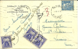 PARIS (PHILATELIE  TAXES ) - Francobolli (rappresentazioni)