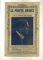 - LA POUPEE ANIMEE . CHANSON DE MAURICE CHEVALIER  . - Noten & Partituren