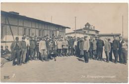 Camp De Prisonniers - Im Kriegsgefangenenlager - Fotografie Von R. Bender, Limburg - Guerra 1914-18