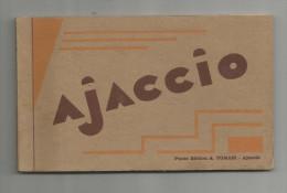 G-I-E , Cp , 20 , 2A , AJACCIO , Ed : Tomasi , 2 Scans , CARNET DE 10 CARTES POSTALES - Ajaccio