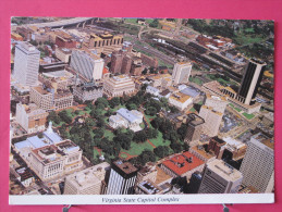 Pas Très Courante - Etats Unis - Virginie - Richmond - Virginia State Capitol Complex - Joli Timbre - Scans Recto-verso - Richmond