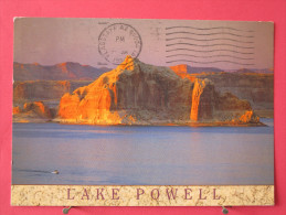 Pas Très Courante - Etats Unis - Arizona - Lake Powell - Castle Rock - Joli Timbre - Scans Recto-verso - Lake Powell
