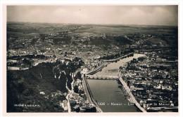 CPSM : NAMUR Et JAMBES - Les Ponts Sur La Meuse - Cliché SABEPA - Real Photo Aérienne - Namur