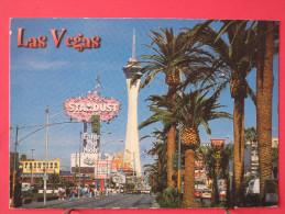 Etats Unis - Nevada - Las Vegas - The Fabulous New Las Vegas Strip - Joli Timbre - Scans Recto-verso - Las Vegas