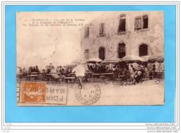 MARSEILLE- RARE-brasserie Du Chateau D'if-la Terrasse Animée- -a Voyagé En 1928 - Château D'If, Frioul, Islands...