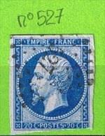 OBLIT PC N°527 BRIEY - MEURTHE ET MOSELLE - 1849-1876: Klassik
