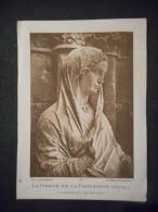 """IMAGE Pieuse """"La Vierge De La Visitation - Détail - Cathédrale De Reims""""    (Art Catholique 47) - Religion & Esotérisme"""