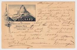"1902, GSK 5 C. , Suchard,  "" Matterhorn "" , #5105 - Entiers Postaux"