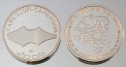 Cameroun 1500 CFA 2005 Argent Pur .999 Monnaie Primitive - Cameroun