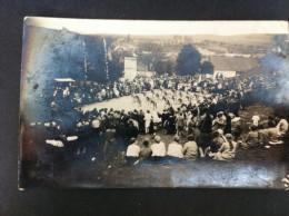 EXHIBICION DEPORTIVA POSTAL CIRCULADA A VALENCIA 1928 - Eslovaquia