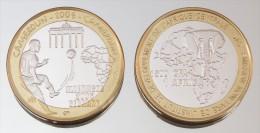 Cameroun 1500 CFA 2006 Monnaie Bimétallique Précieuse Sport - Cameroun
