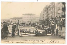 Toulon     Les Canots Majors    1903  Dos Simple - Manoeuvres