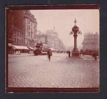 Photo Ancienne - Edimbourg Edinburgh  ( Animée Tramway The Douglas Hotel Homme Sandwich  ) - Anciennes (Av. 1900)