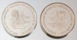 Cameroun 150000 CFA 2003 Biya Argent Pur .999 Président - Cameroun