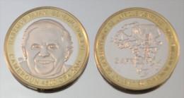 Cameroun 4500 CFA 2005 Monnaie Bimétallique Précieuse Pape - Cameroun