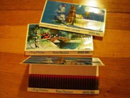 3 Cajas Grandes De 60 Cerillas, Sin Usar * Tema Navidad, Años 80-90 - Cajas De Cerillas (fósforos)