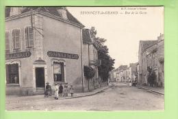 SENNECEY Le GRAND - Rue De La GARE  Animée - Pharmacie Guillemaud - Vue Différente - Ed.B.F. -2 Scans - Sin Clasificación