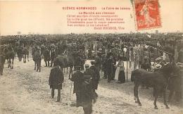 LA FOIRE DE LESSAY LE MARCHE AUX CHEVAUX SCENES NORMANDES - France
