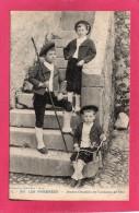 64 PYRENEES-ATLANTIQUES VALLEE D'OSSAU, Jeunes Ossalois En Costume De Fête, (Carrache, Pau) - Vestuarios