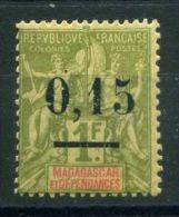MADACASCAR ( POSTE ) : Y&T N°  55  TIMBRE  NEUF  AVEC  TRACE  DE  CHARNIERE , A  VOIR . - Nuevos