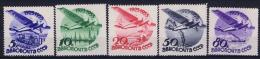 Russia   Mi Nr 462 - 466 MH/*  1934 Airmail
