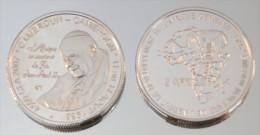 Cameroun 4500 CFA 2007 Argent Pur .999 Pape - Cameroun
