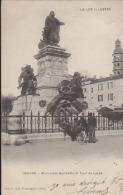 CPA:Cahors:Monument Gambetta Et Tour Du Lycée - Cahors