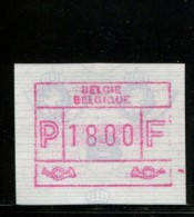 BELGIE POSTFRIS MINT NEVER HINGED POSTFRISCH EINWANDFREI NEUF SANS CHARNIERE OCB ATM59B - 1980-99