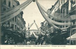 69 TARARE FETE MOUSSELINES RUE  ANIMATION N° 14 - Tarare