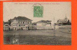 Asie - CAMBODGE - Phnom- Penh - Façade Principale Du Palais Royal - Cambodia