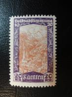 KARNTEN Carinthie Local Stamp 1920 Propagandamenken WW1 Abstimmung Plebiscite Austria - 1850-1918 Empire